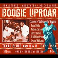 Boogie Uproar / Texas Blues & R&B 1947-1954 (4CD)